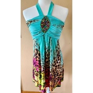 Venus Leopard Print Dress 🌟